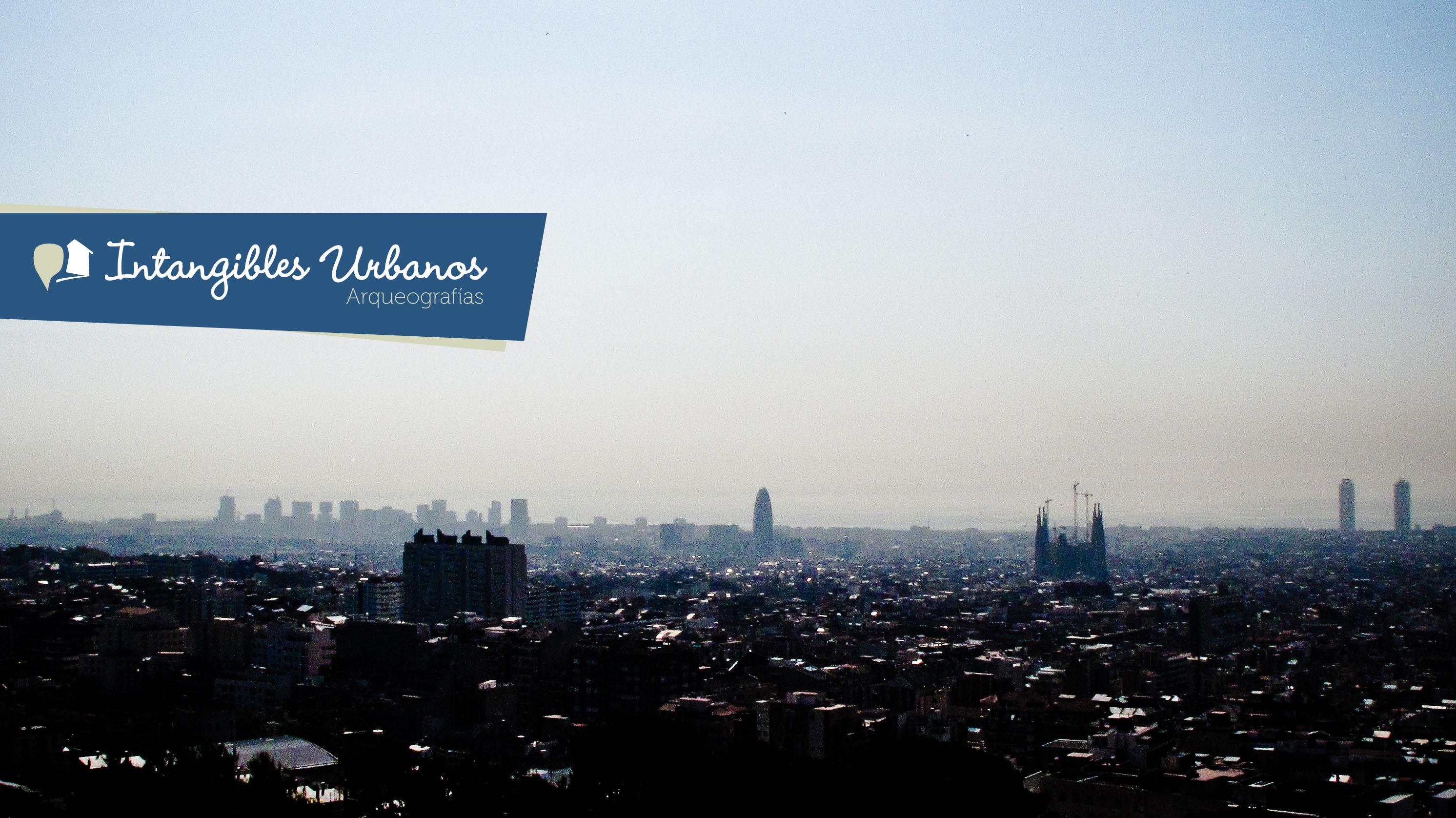Vista de Barcelona desde Parc Güell