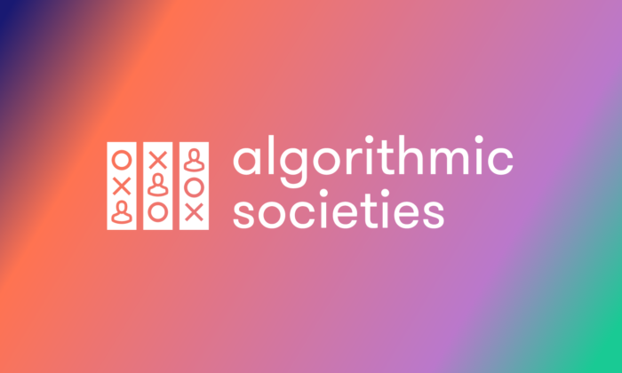 algorithmic societies